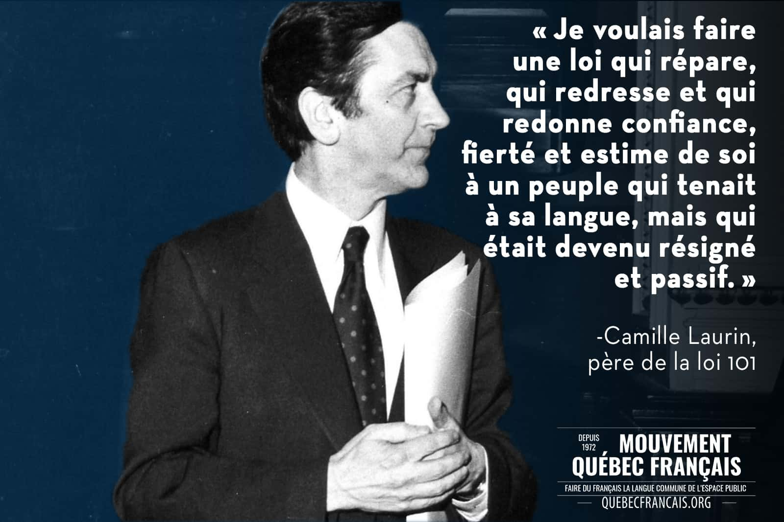 Camille Laurin citation 1