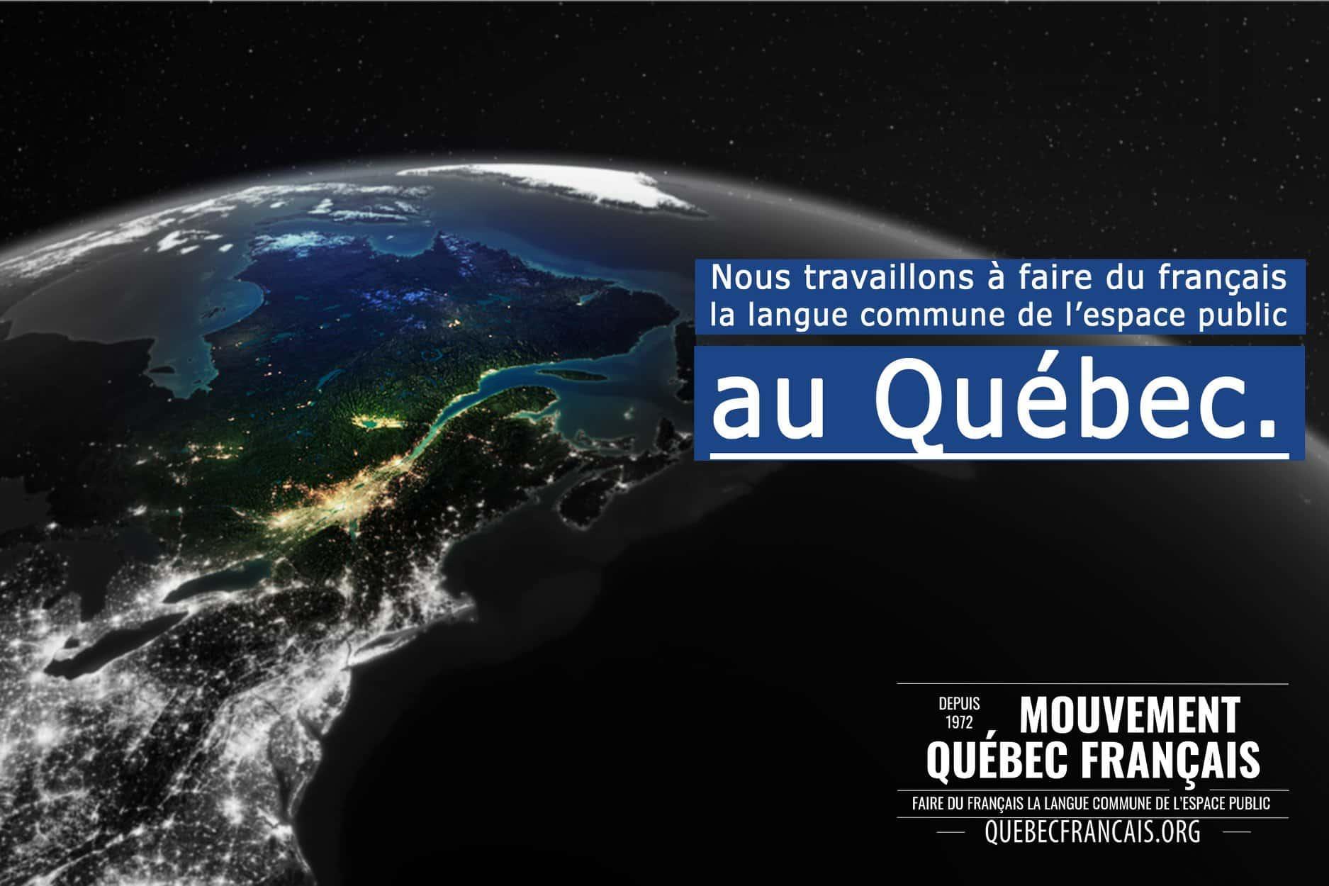 Faire du français la langue commune de lespace public au Québec