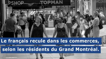 Le français recule dans le Grand Montréal