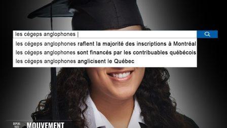 Les cégeps anglophones raflent la majorité des inscriptions à Montréal