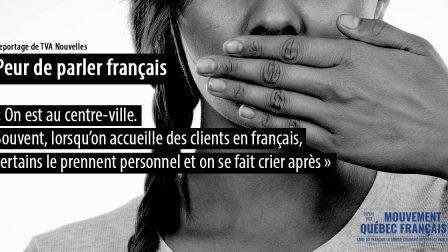 Peur de parler français