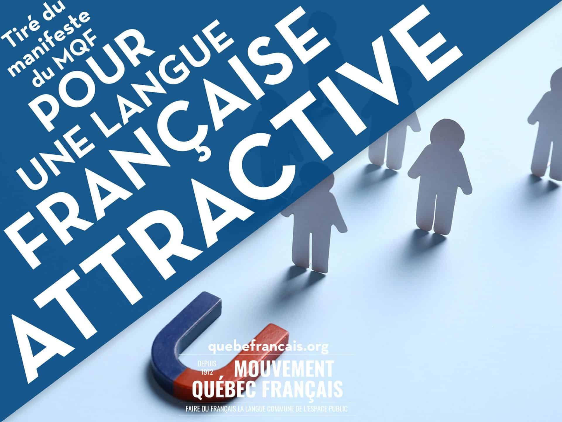 Pour une langue française attractive