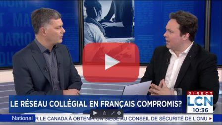 Thumbnail entrevue Max Laporte LCN 2 mars 2020